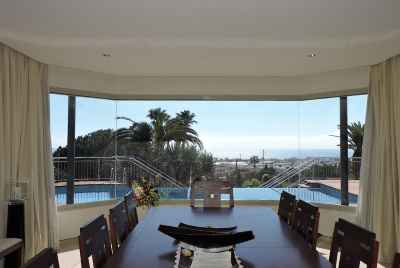 Beautiful modern villa with pool and sea views on Maresme Coast